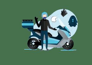 Taxi Scooter électrique